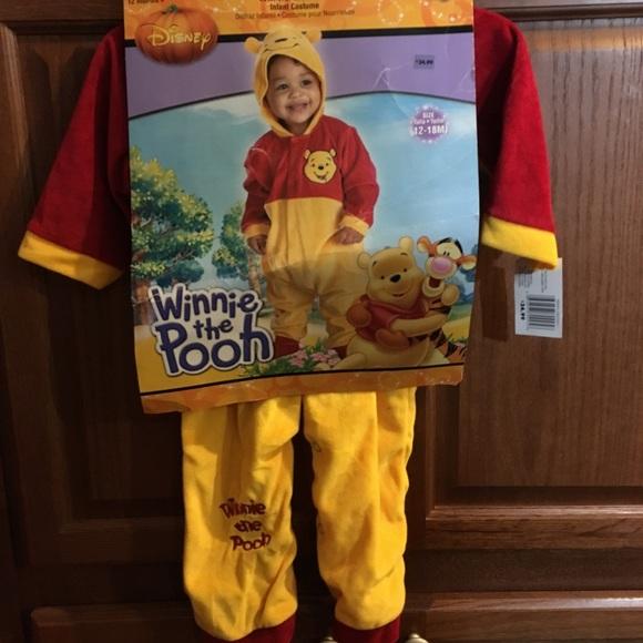 c5c1bf95f190 Infant Winnie The Pooh Halloween Costume NEW
